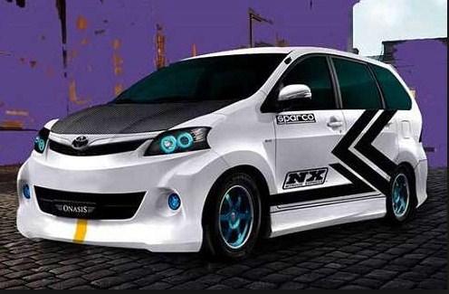 modifikasi mobil avanza 2012 terkeren